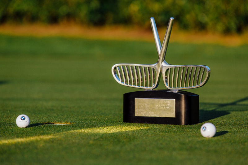 Cover of golf event named BMW Golf Cup France