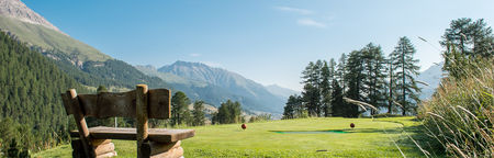 Overview of golf course named Kulm Golf Saint Moritz