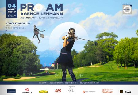 Cover of golf event named Pro Am de l'Agence Lehmann