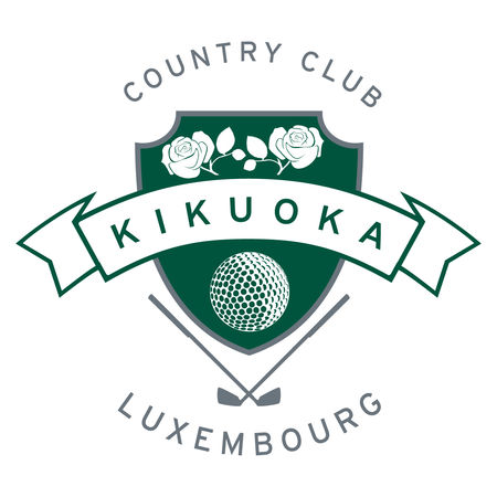 Logo of golf course named Kikuoka Golf and Country Club