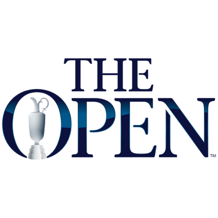 Logo of golf article author named The Open