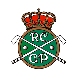 Logo of golf course named Real Club de Golf El Prat