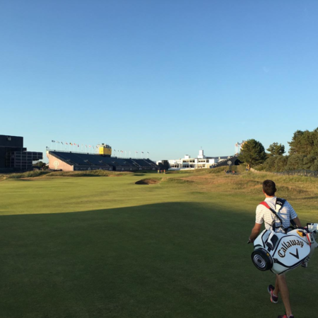 Royal birkdale golf club thomas pieters checkin picture