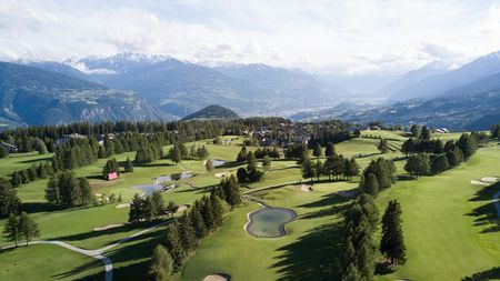 Overview of golf course named Golf Club Crans-Sur-Sierre