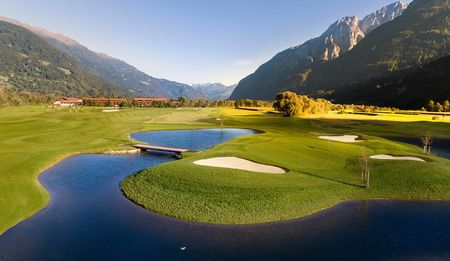 Overview of golf course named Dolomitengolf Osttirol Golf Club