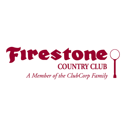 Logo of golf course named Firestone Country Club