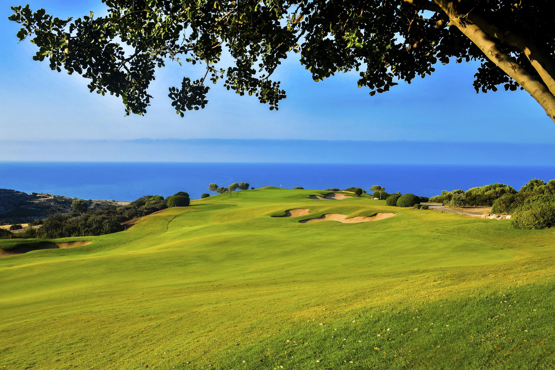 Aphrodite hills golf cover picture