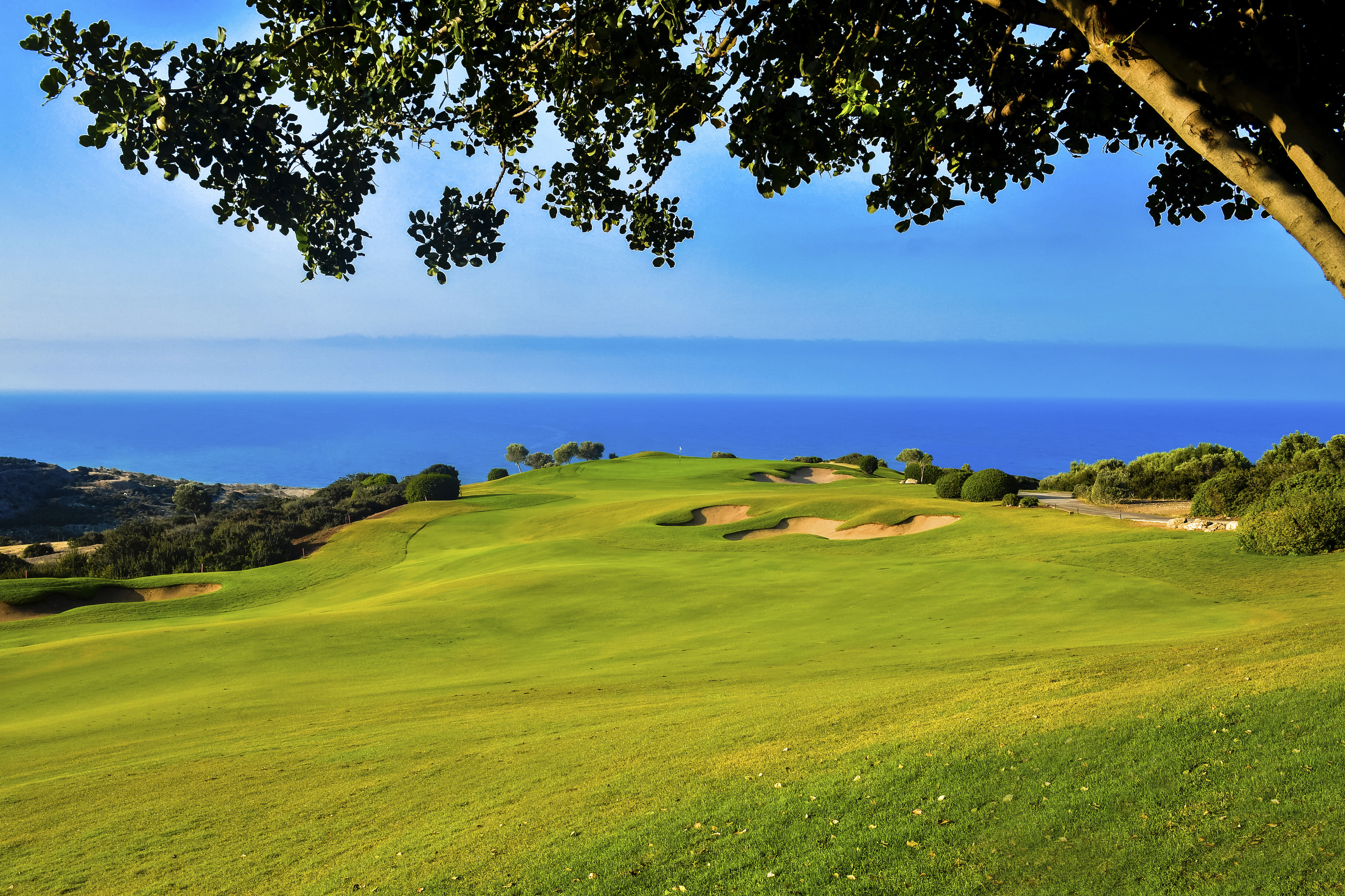 Cover of golf event named PGA National Cyprus Masters