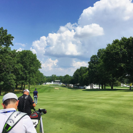 Firestone country club thomas pieters checkin picture