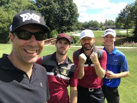 Golf club trier leon marks checkin picture