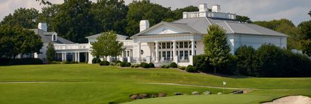 Overview of golf course named Quail Hollow Country Club