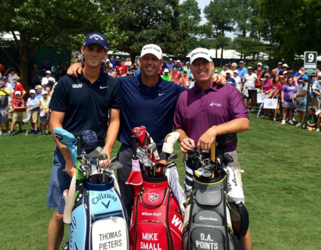 Quail hollow country club thomas pieters checkin picture