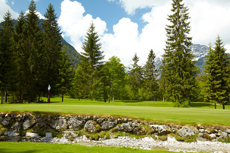 Overview of golf course named Golf and Landclub Achensee