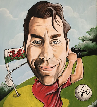 Avatar of golfer named Leon Marks