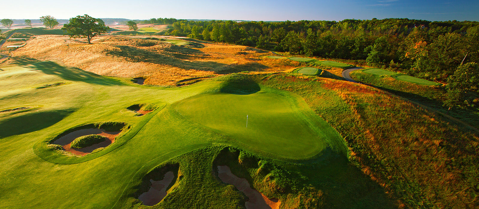 Erin hills golf course cover picture