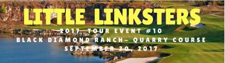 Cover of golf event named Little Linksters Junior Golf