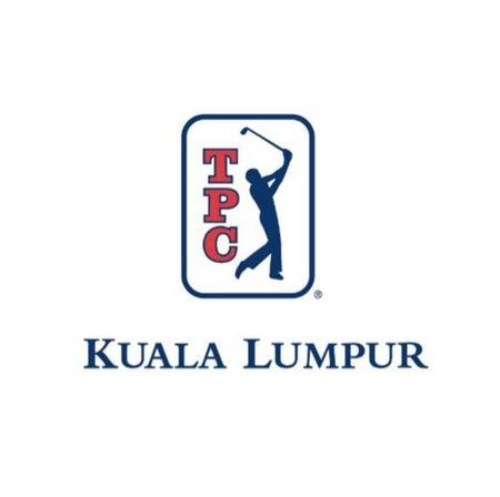 Logo of golf course named TPC Kuala Lumpur