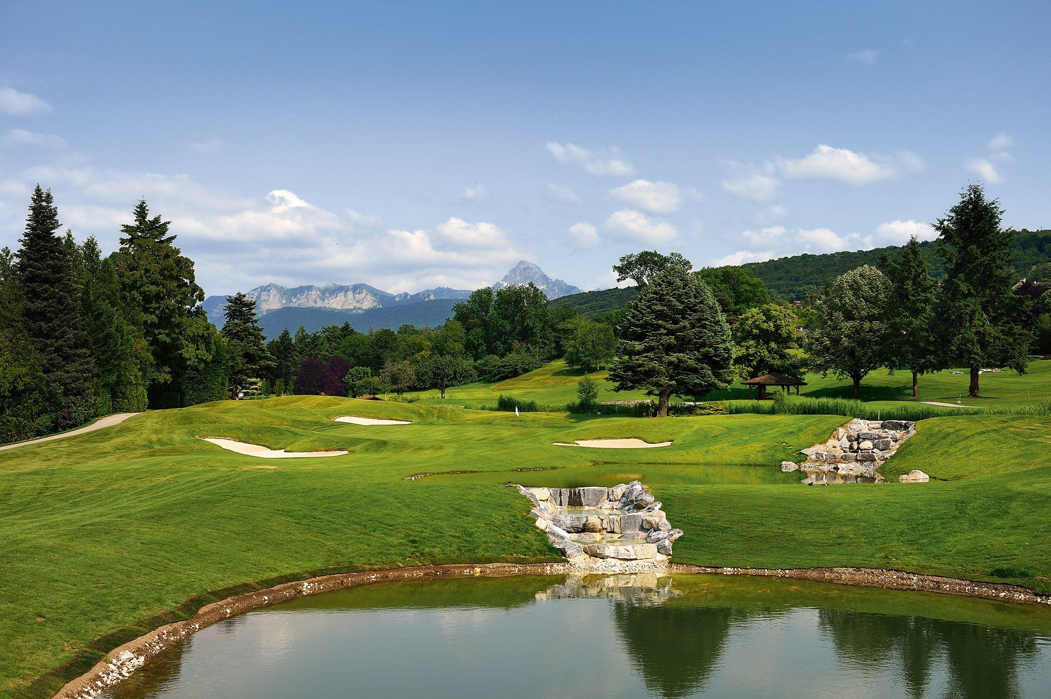 Evian resort golf club cover picture