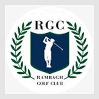Logo of golf course named Rambagh Golf Club