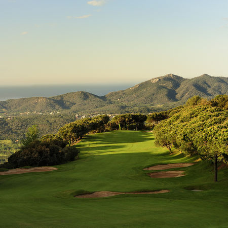 Overview of golf course named D'Aro Golf Club - Mas Nou