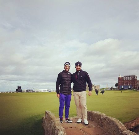 St andrews the old course joel stalter checkin picture