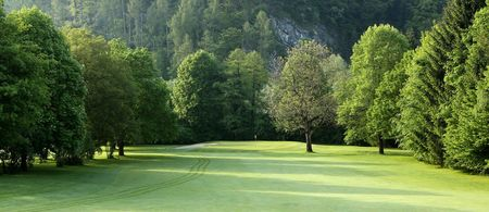 Overview of golf course named Steiermarkischer Golf-Club Murhof