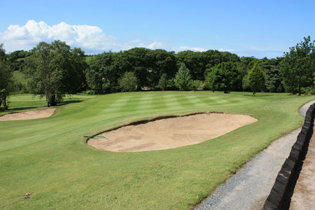 Spa golf club ballynahinch course cover picture