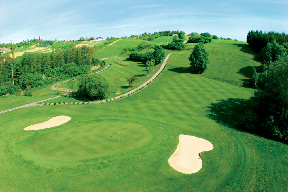 Overview of golf course named Reiters Golfschaukel Stegersbach Lafniztal - Panorama Course