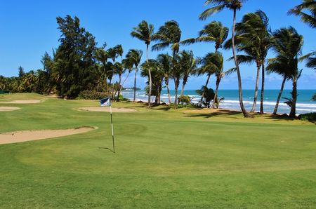 Overview of golf course named The Wyndham Rio Mar Beach Resort - Ocean Course