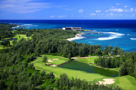 Overview of golf course named Turtle Bay Resort - Palmer Course