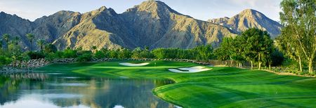 Overview of golf course named Indian Wells Golf Resort - The Celebrity Course