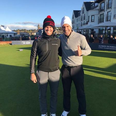 Kingsbarns golf links ricardo melo gouveia checkin picture