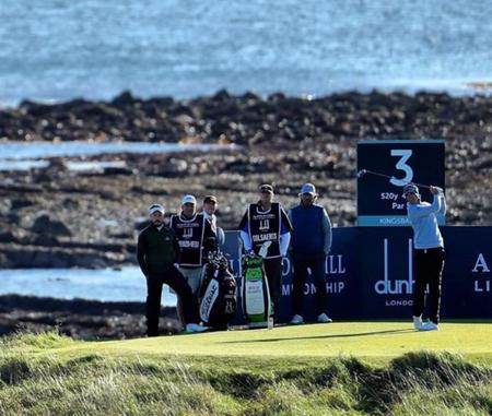 Kingsbarns golf links nicolas colsaerts checkin picture