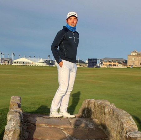 St andrews the old course daniel im checkin picture