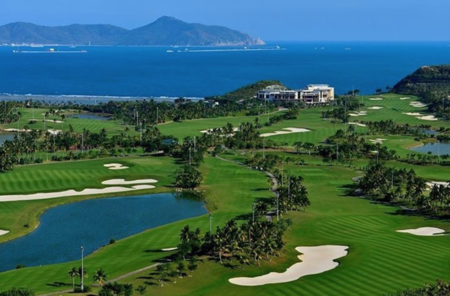 Sanya luhuitou golf club joel girrbach checkin picture