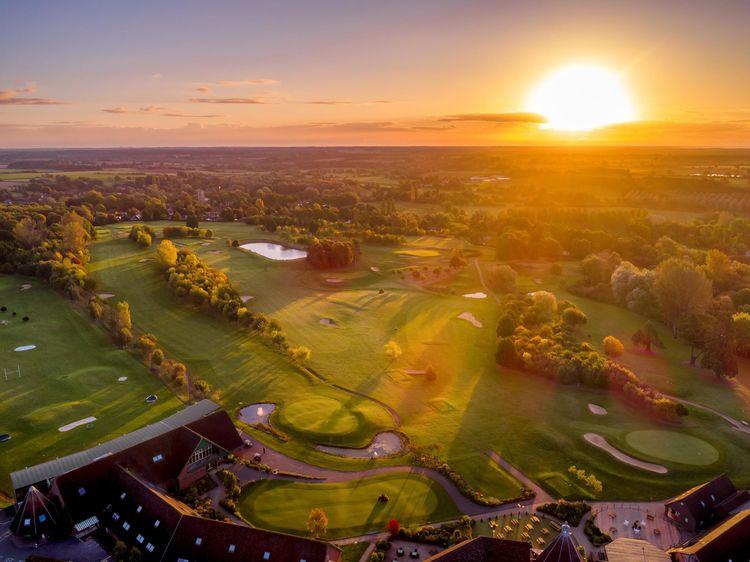 Ufford park golf club picture
