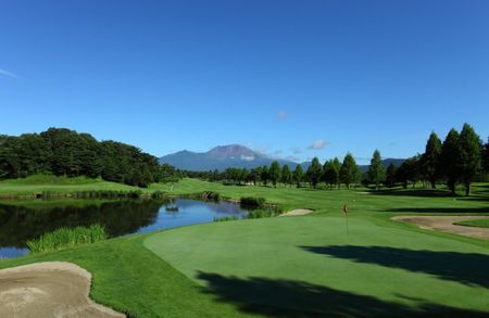 Overview of golf course named Karuizawa Golf Club