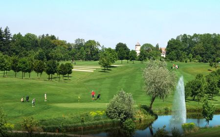 Overview of golf course named Schloss Guttenburg Golf Club