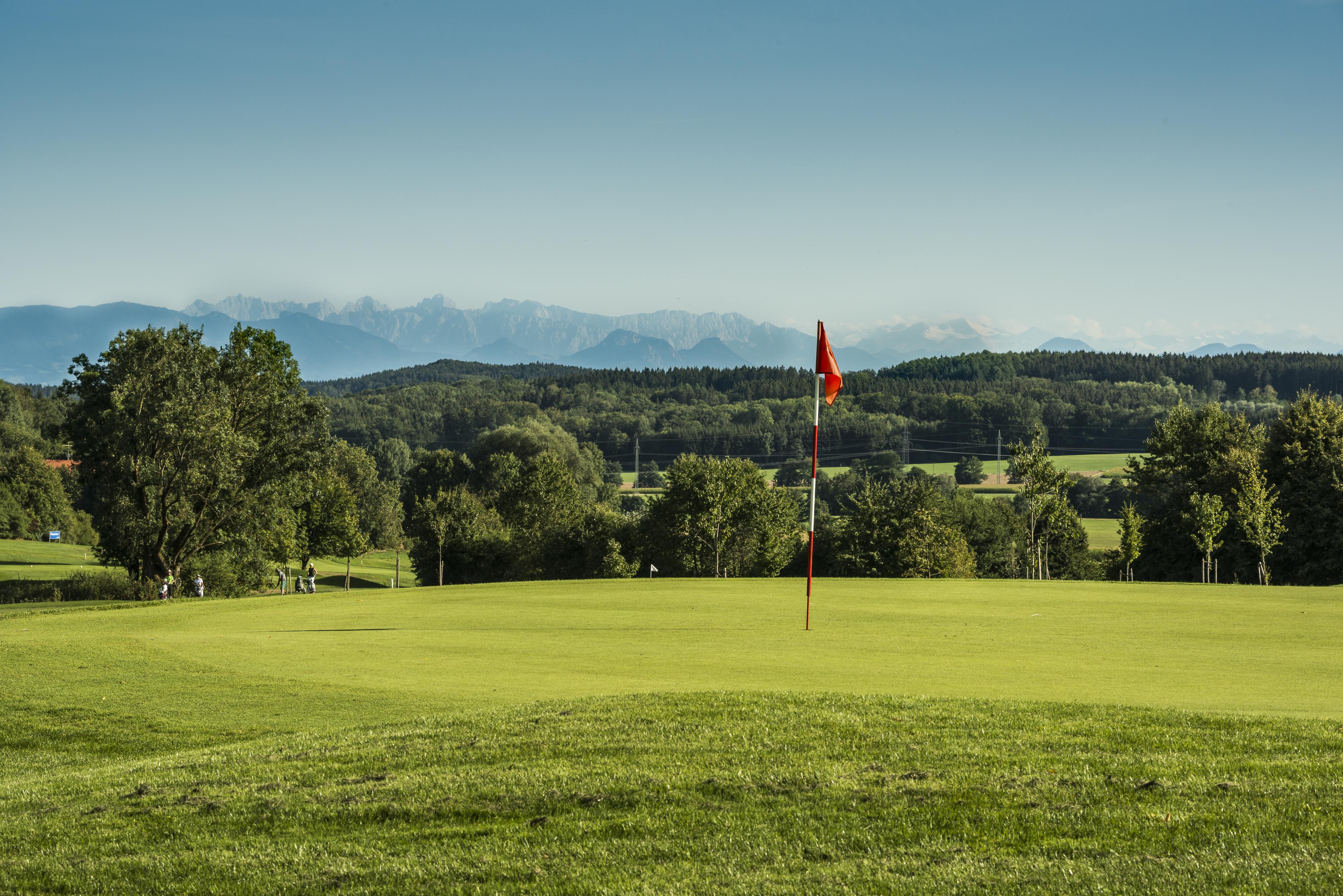 Overview of golf course named Golfplatz Thailing e.V.