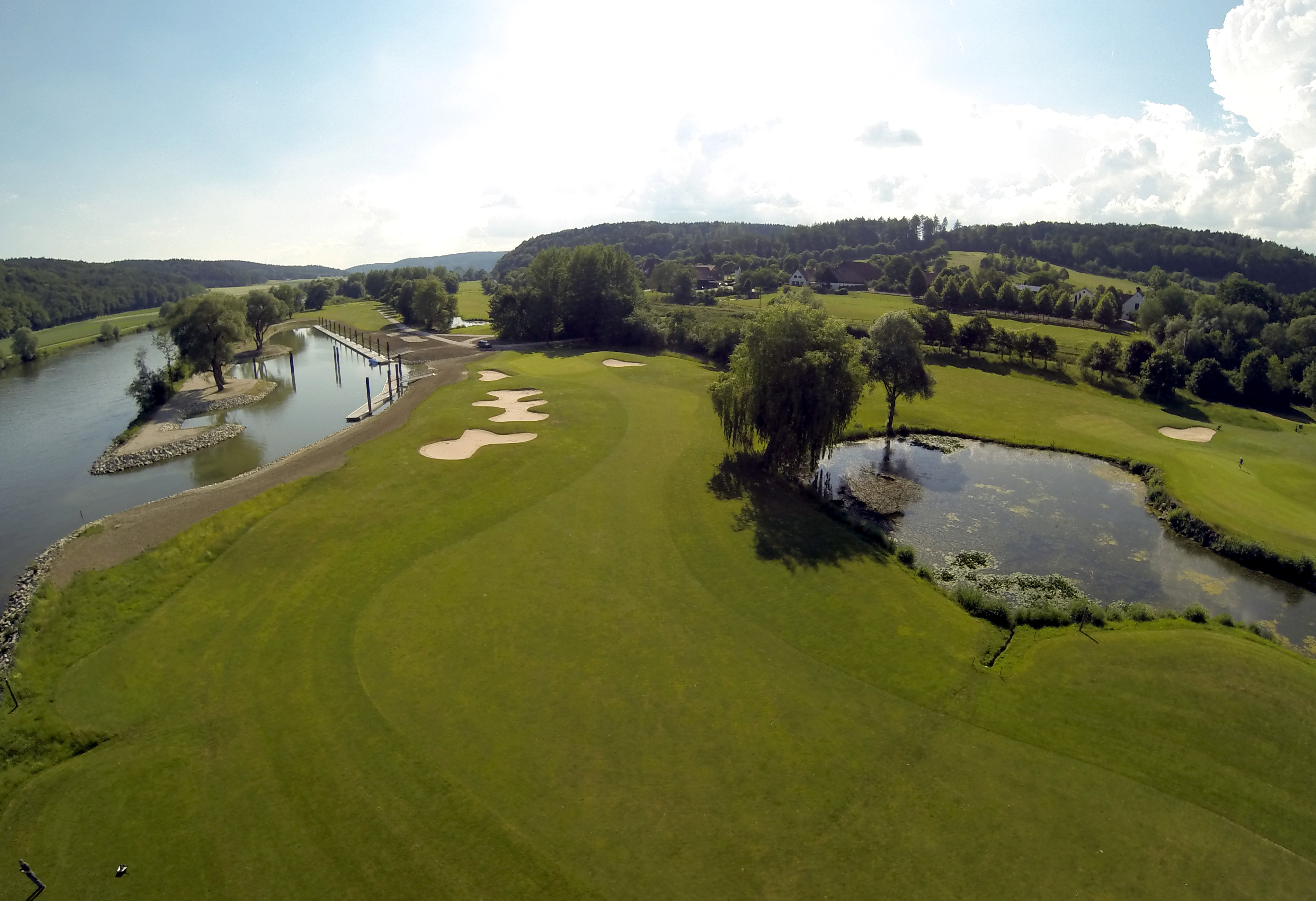Overview of golf course named Gut Minoritenhof Golf and Country Club