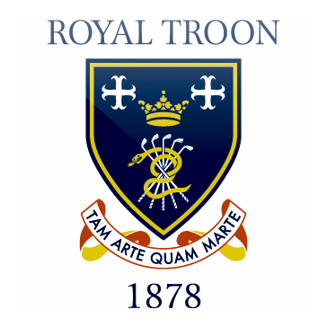 Logo of golf course named Royal Troon Golf Club