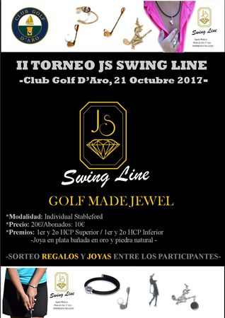 II JS SWING LINE TOURNAMENT P&P Cover