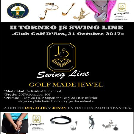 Cover of golf event named II JS SWING LINE TOURNAMENT P&P