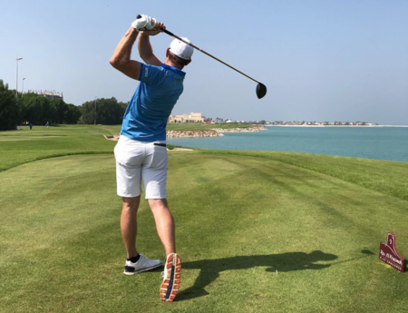 Al hamra golf club joel girrbach checkin picture