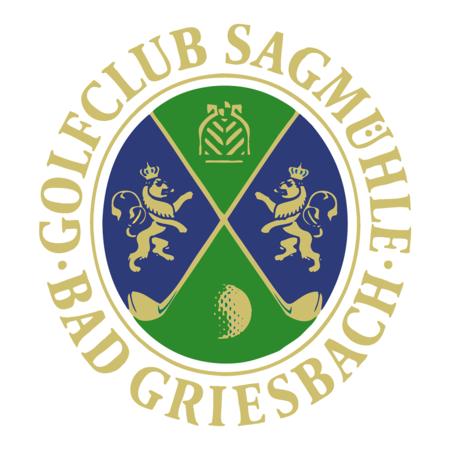 Logo of golf course named Golfclub Sagmuhle