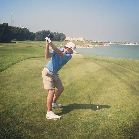 Al hamra golf club nicolai von dellingshausen checkin picture