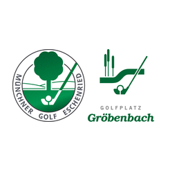 Logo of golf course named Münchner Golf Eschenried Course Gröbenbach