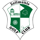 Logo of golf course named Golfclub Zollmuhle