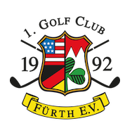Logo of golf course named 1. Golfclub Furth
