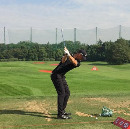 Shanghai sheshan international golf club thomas pieters checkin picture